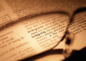 Integrity means honoring agreements
